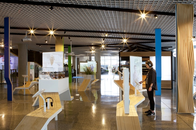Finalist: Installation – Fonterra HQ Dairy for Life exhibition (Auckland) by Designworks