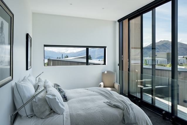 Views and natural light are abundant in the bedrooms.