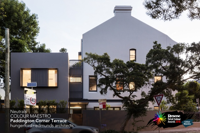 Neutrals Colour Maestro Award winner: Paddington Corner Terrace, Sydney by hungerford+edmunds architects.