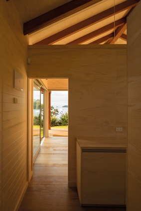 Doors, windows, glazed roofing and cut-outs are carefully positioned to maximise views.