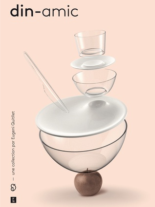 Din-Amic dinnerware for IPI, 2012.