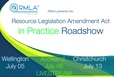 Resource Legislation Amendment Act in Practice Roadshow