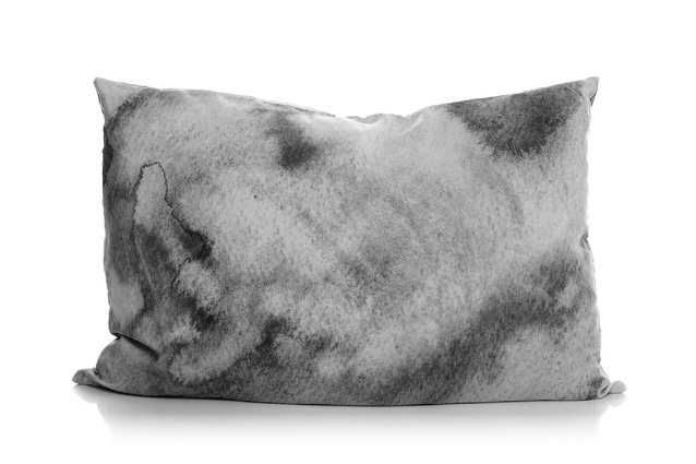 The Grey Water printed pillowslip.