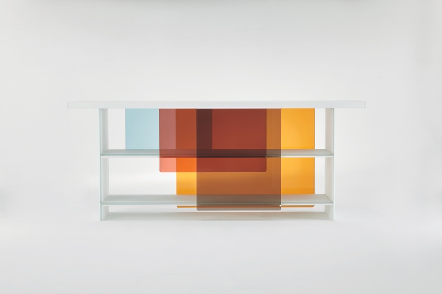 Layers, by Nendo for Glas Itali.