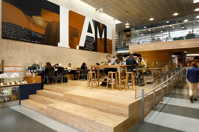 Finalist: Civic – Victoria University Business School Rutherford House Redevelopment by Athfield Architects.