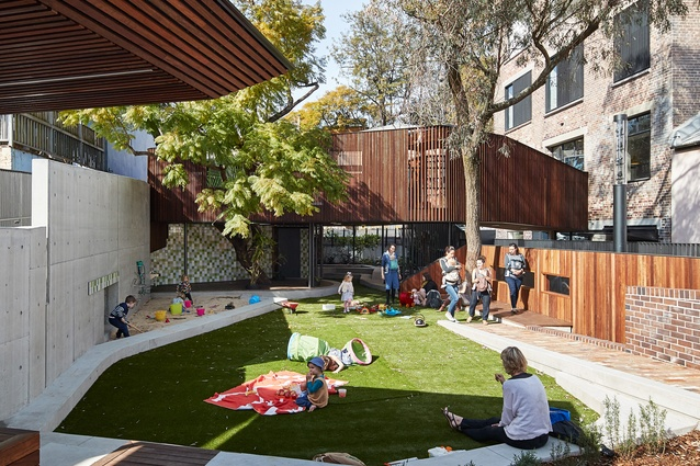 East Sydney Learning Centre by Andrew Burges Architects.