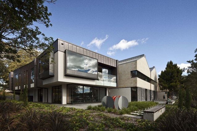St Cuthbert's College - Performing Arts Centre by Architectus.