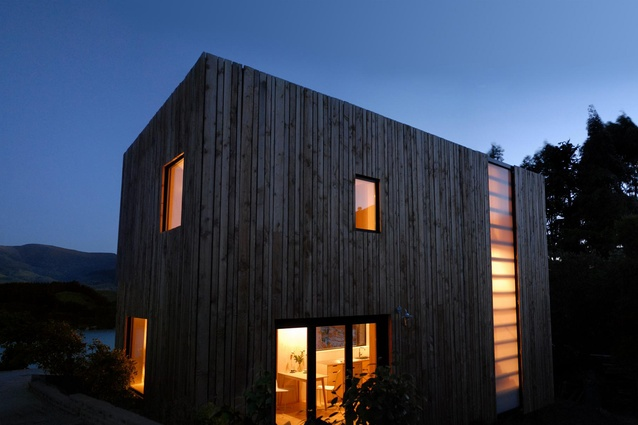 Warrander Studio by First Light Studio and Makers of Architecture in association. North-west exterior.
