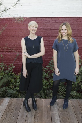 Rebecca Rudolph and Catherine Johnson, the two women behind Design, Bitches.