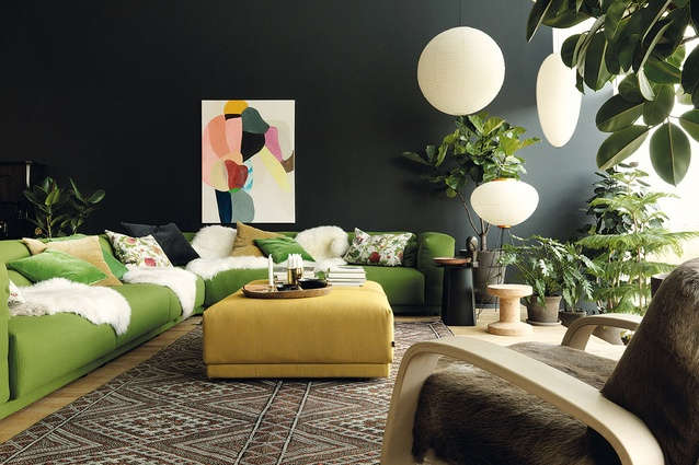 The Vitra apartment in Germany.
