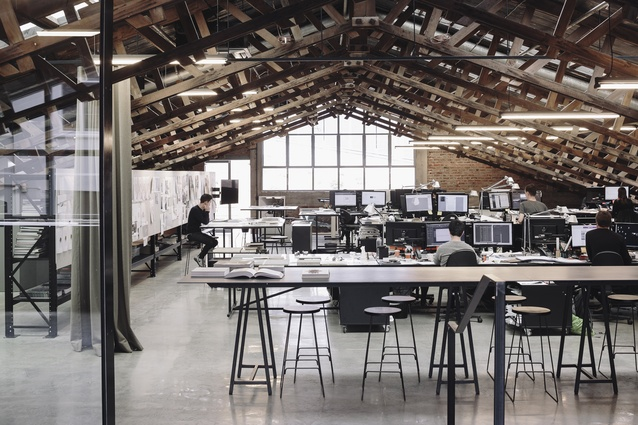 Interior Architecture winner: Faraday St Studio, Parnell by Fearon Hay Architects.