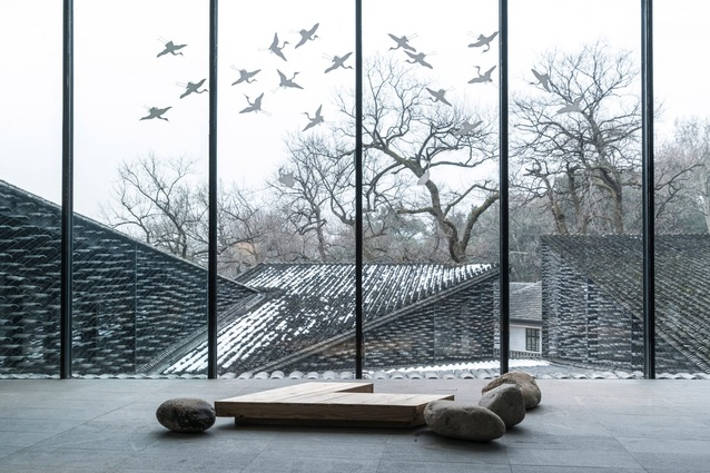 Sense of place: Folk Art Museum, China Academy of Arts, Hangzhou, China, by Kengo Kuma, photographed by Terrence Zhang.