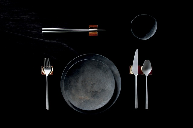 The Poise utensil collection.