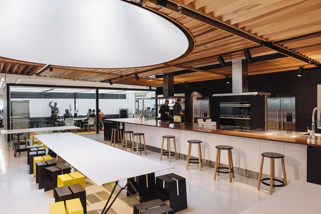 Finalist: Workplace (over 1,000m2) – Fisher & Paykel Design Centre (East Tamaki, Auckland) by Custance.