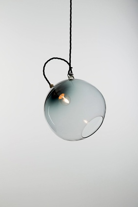 The Tilt pendant can be hung at different angles.