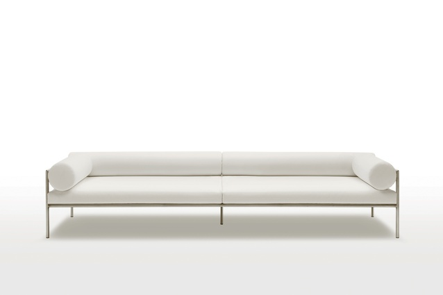 """Agra sofa by Lopez Quincoces I $9,800 from  <a  href=""""http://www.studioitalia.co.nz/products/LivingDivani-agra-sofa"""" target=""""_blank""""><u>studioitalia.co.nz</u></a>"""