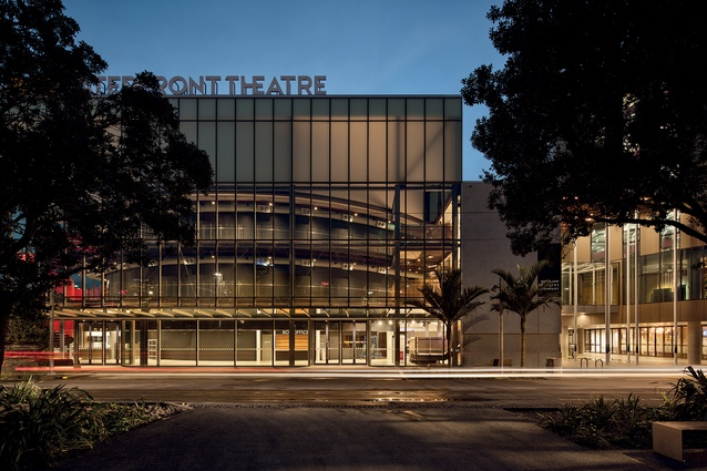 ASB Theatre by Moller Architects with BVN Architecture.