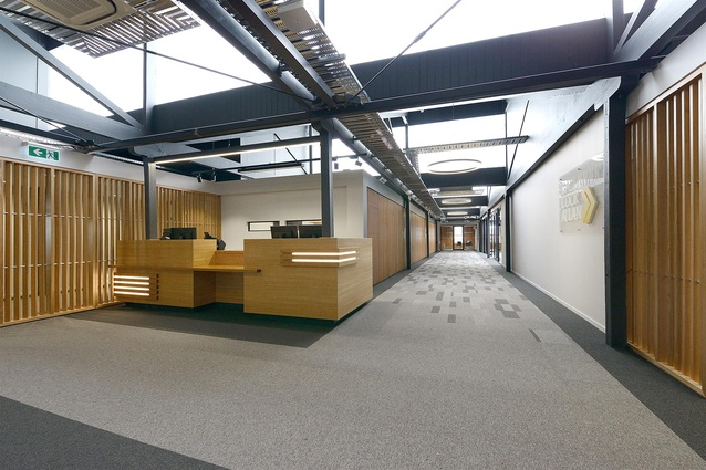 Finalist: Workplace over 1,000m<sup>2</sup> – GCA Dunedin by McAuliffe Stevens Registered Artchitects.