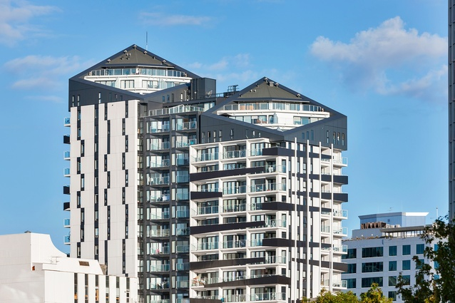 Winstone Wallboards Residential Project Award: Queens Residences, Auckland.