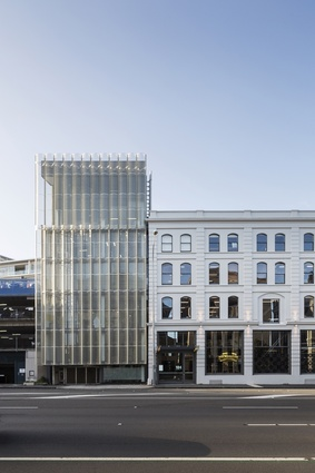 Commercial winner: Kauri Timber Building, Fanshawe Street, Auckland by Fearon Hay Architects.