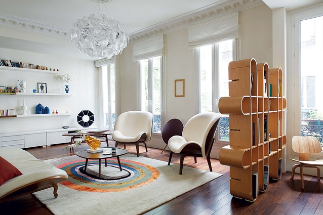 We check out the Paris home of French designer, Jean-Marc Gady on pg 80.