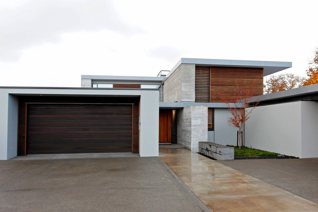 This house by Phil Benton Builders was named House of the Year. It also won the Westpac New Homes over $2 million category.