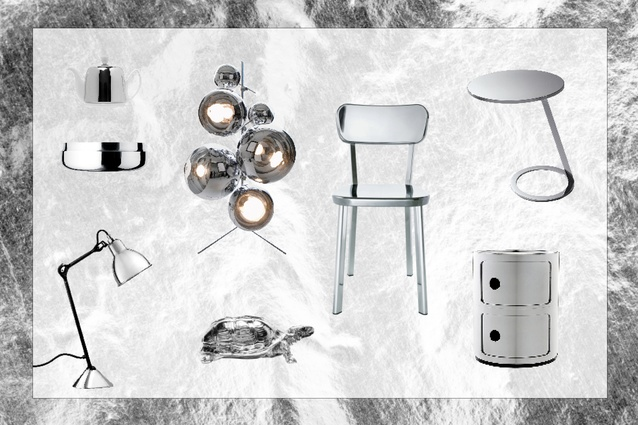 A round-up of shining objects, suitable for a range of spaces.
