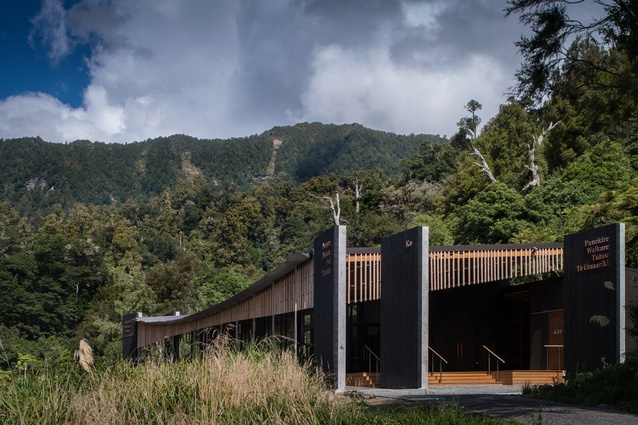 Public Architecture winner: Te Wharehou o Waikaremoana by Tennent Brown Architects.