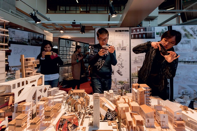 Design Studio in Action: University of Auckland architecture students' exhibition.