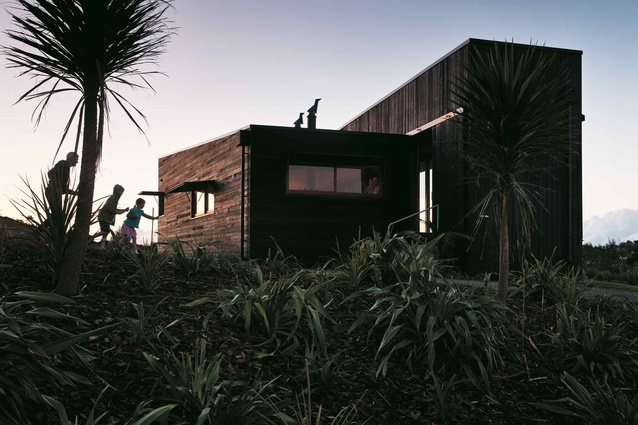 The Tutukaka house designed by Crosson Clarke Carnachan Architects (Auckland).