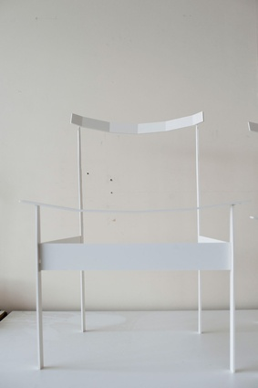 Chair designed by Todd Bracher.