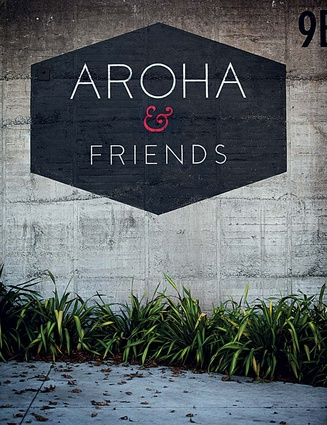 The façade of Aroha &