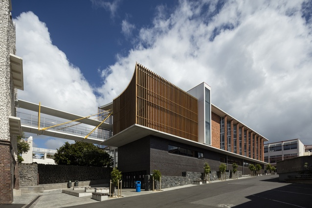 Education category finalist: Augusta Building, Auckland Grammar School by Architectus.