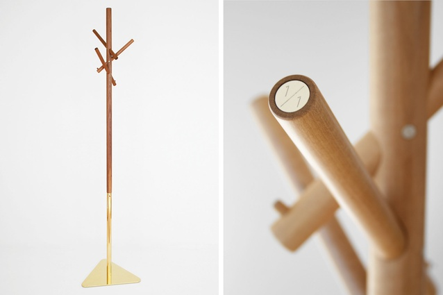 Y.S Collective have created several limited-edition pieces such as this coat stand.