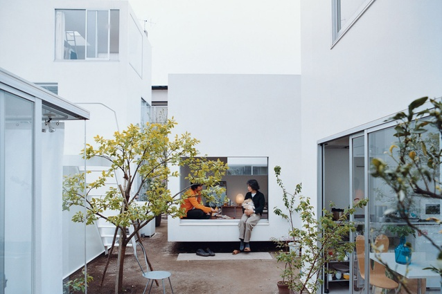 The Moriyama House by Ryue Nishzawa was part of the architects' tour of Japan.