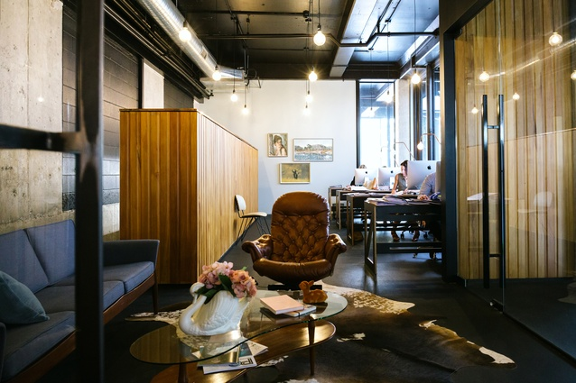 Interior Architecture Award: Louise Feathers' Planning fitout, Hamilton by Edwards White Architects.