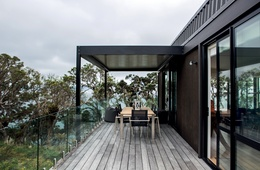 Two in one: Langs Beach House