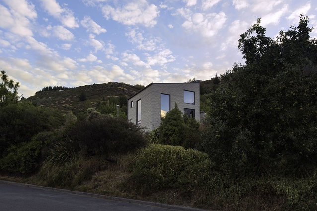 Small Project Architecture category finalist: h01 house, Christchurch by Maguire and Harford Architects.
