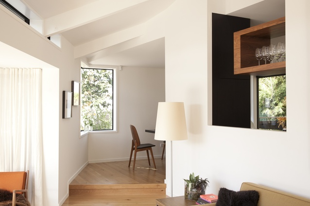 Aaron Pollock and Mickey Smith's home is light, airy and modern.