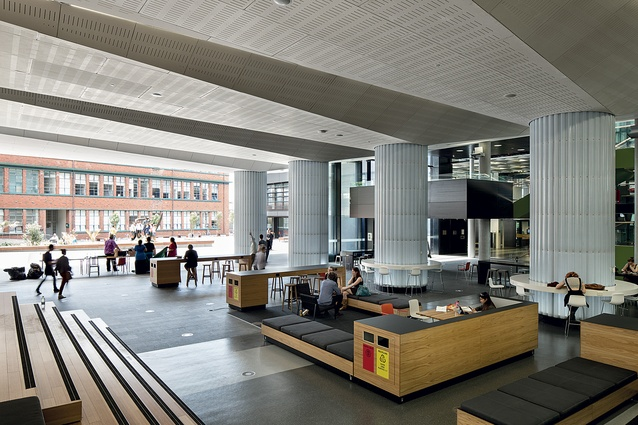 Open Foyer University : Victoria university of wellington campus hub and library