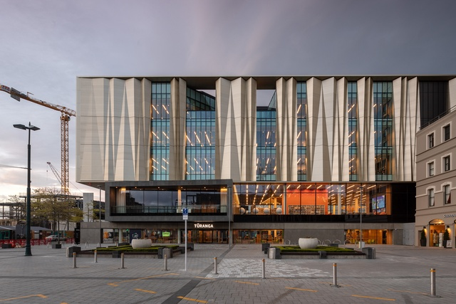Christchurch's new central library opens