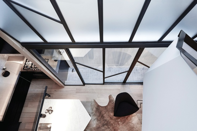 Upward spiral: Fitzroy Terrace : Products and materials   Architecture