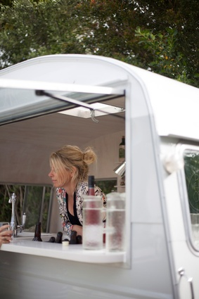 Event stylist and One Little Wagon owner Claire Donaldson.
