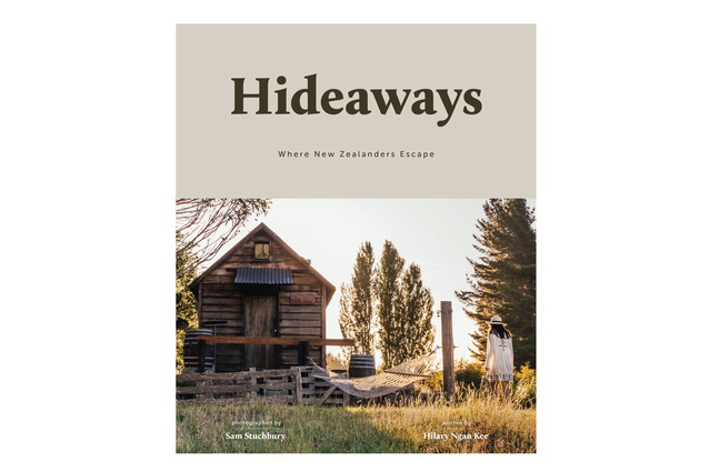 "We all love a getaway. <a href=""https://www.mightyape.co.nz/product/hideaways-hardback/26807077"" target=""_blank""><u><em>Hideaways: