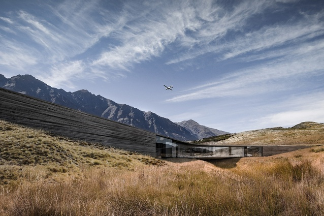 Future, House winner: Queenstown House by Monk Mackenzie Architects.