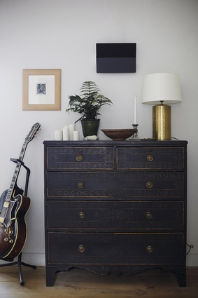 """""""I saw this Italian dresser at one of the Fontaine Boys' fairs and I was so thrilled because it was the first time I could afford to pay full price."""""""