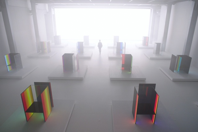 S.F_Senses of the Future by Tokujin Yoshioka and LG.