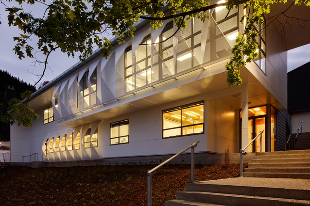 Education winner: Nelson College Commerce Centre by Jerram Tocker Barron Architects.