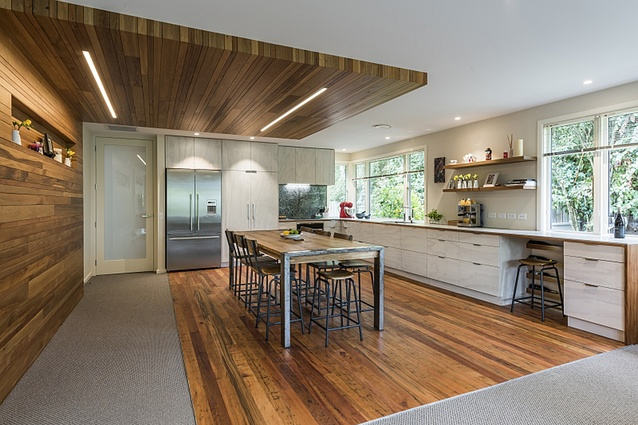 architectural interior design. Green Alterations, Rangiora By Jason Higham Of Architecture. Architectural Interior Design