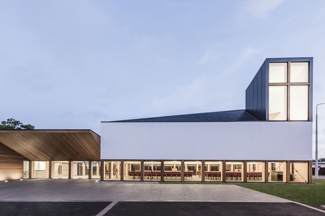 Public Architecture category finalist: Christchurch North Methodist Church by Dalman Architects.